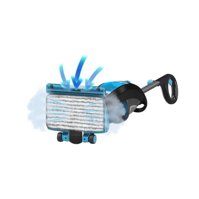 FAGOR Aspirateur balai vapeur 2 en 1 SPEED UP - FG1508N - Gris Puissance : 1600 W - Pression : 1 bar - Niveau sonore 78 dB(A) - Réservoir d'eau : 730 ml - Réservoir de poussière : 1 L - Débit de vapeur 25 g/min - Autonomie de vapeur : 35 min - Variateur d