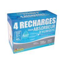Humidivore - Recharge absorbeur 1Kg - lot de 4