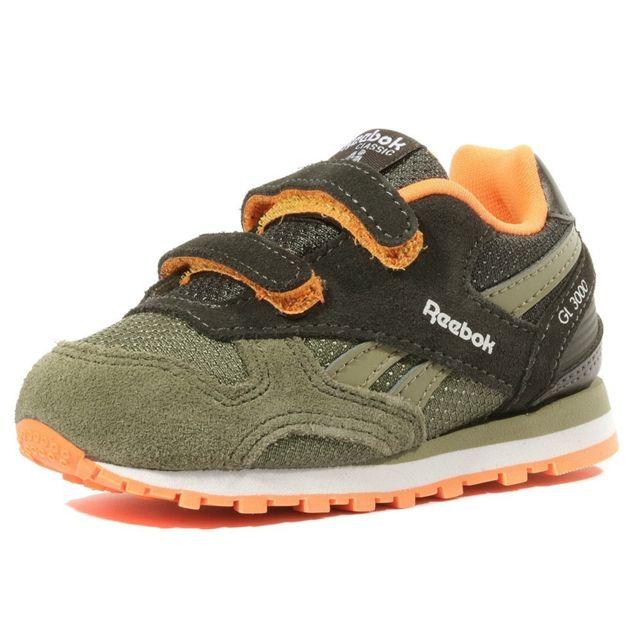 Reebok Gl 3000 Bébé Garçon Chaussures Kaki Multicouleur 20