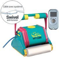 Dolphin - Robot électrique 2001 brosses mousses, Swivel et télécommande