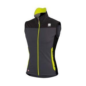 gilet sportful squadra corse 2 vest gris noir jaune pas cher achat vente rueducommerce. Black Bedroom Furniture Sets. Home Design Ideas