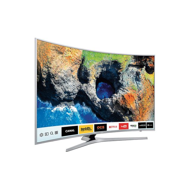 samsung tv led 49 39 39 123cm ue49mu6655 pas cher achat vente tv led de 40 39 39 49. Black Bedroom Furniture Sets. Home Design Ideas