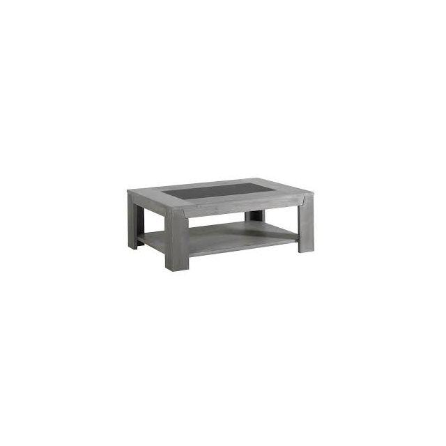 Modern Design Titan Table Basse Chêne Gris Pas Cher Achat