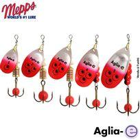 Mepps - Cuiller Aglia-e Argent Rouge