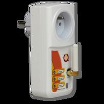 Iqtronic - Prise pilotable par Gsm et Bluetooth avec détection de coupure de courant Iqsocket mobile