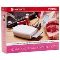 Husqvarna Viking - Kit Husqvarna 4D lecteur / enregistreur de d-Card