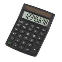 Citizen - Calculatrice de bureau écologique Ecc-210 - 8 chiffres