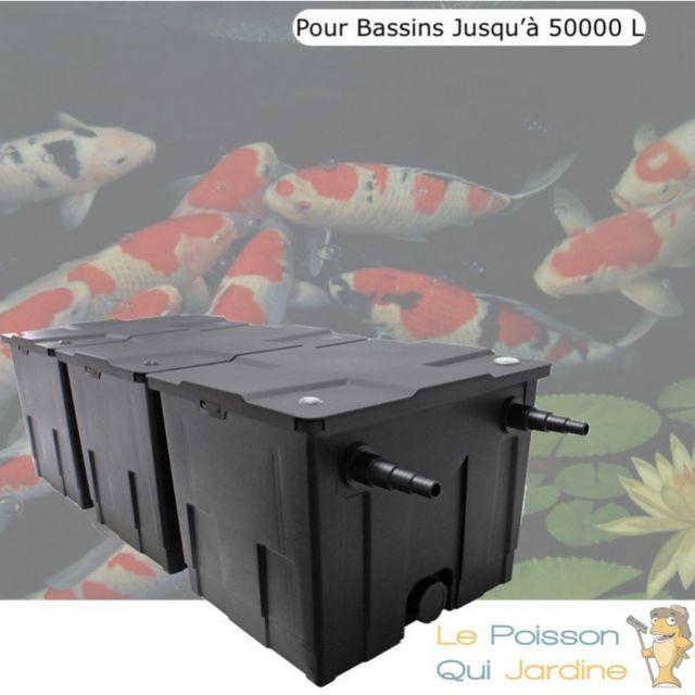 Le Poisson Qui Jardine Filtre De Bassins De Jardin Et Etangs jusqu'à 50000 Litres