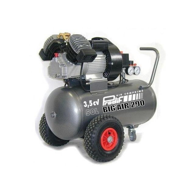 prodif - compresseur coaxial 50l lubrifie 3 5cv