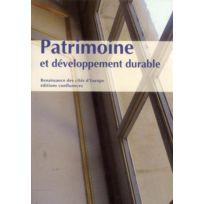 Confluences - Patrimoine et développement durable