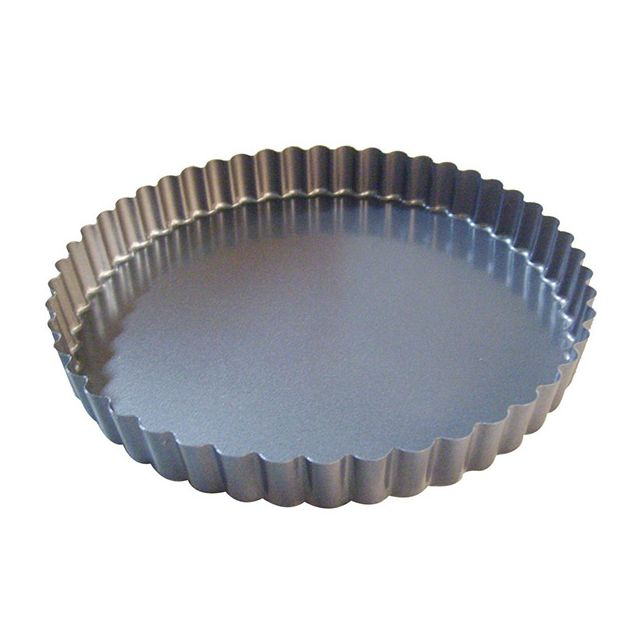 DE BUYER moule à tarte rond cannelé 20cm - 4705.20
