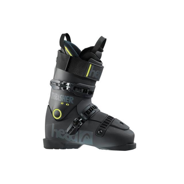 b8d18e60a1 Head - Chaussures De Ski Thrasher 80 Black - Yellow - pas cher Achat / Vente  Chaussures ski - RueDuCommerce