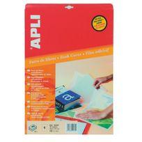 Apli - Pochette 10 feuilles film adhésif A3