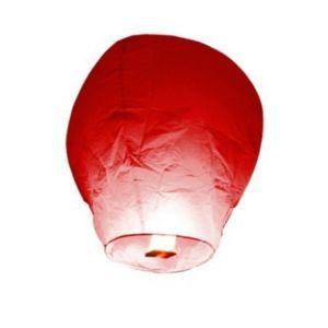 Skylantern - Lanterne volante rouge X 5