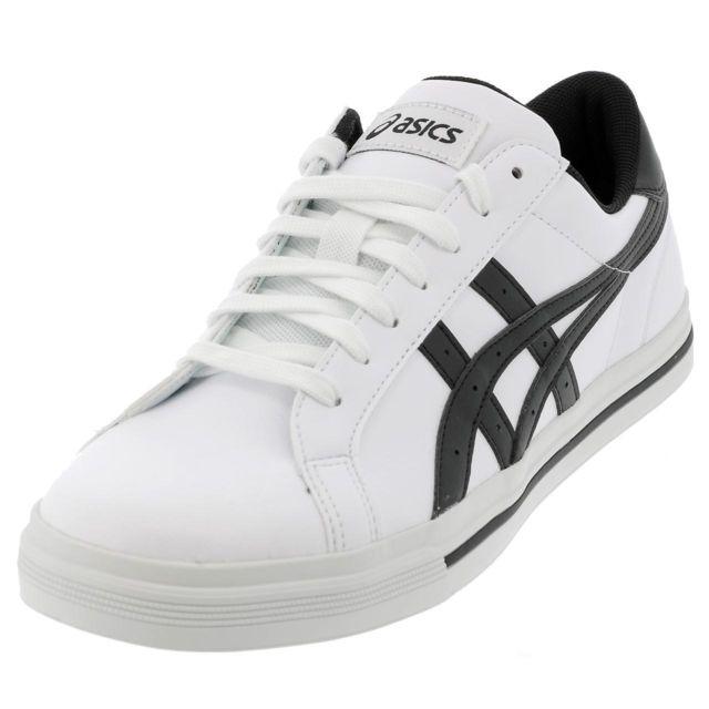 Chaussures basses cuir ou simili Classic tempo whiteblk Blanc 11108
