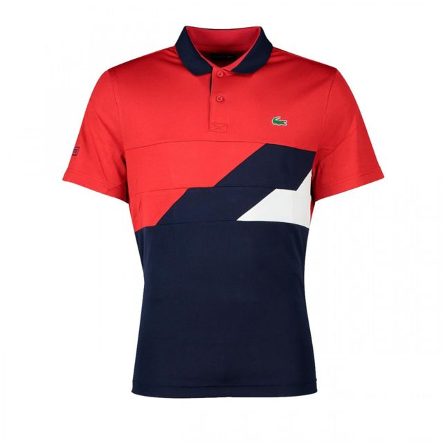 9c7b7a6540c Lacoste - Polo - Dh9483-002RG Rouge - pas cher Achat   Vente Polo homme -  RueDuCommerce