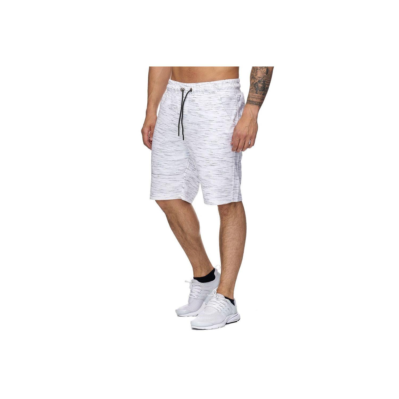 MONSIEURMODE- Short molleton sport Short 983 blanc - XXL 6cdc12f988c