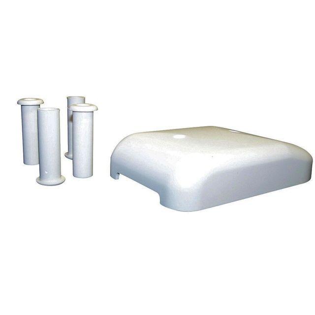 inovtech passe c ble tanche fixapan blanc panneau. Black Bedroom Furniture Sets. Home Design Ideas