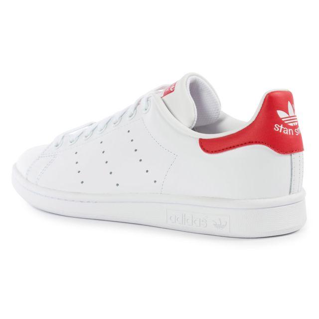 adidas stan smith toute rouge
