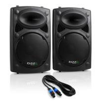 Electronic Star - Ibiza Slk Pack enceintes Pa 2x 38cm 15, Master/Slave 1500W Usb