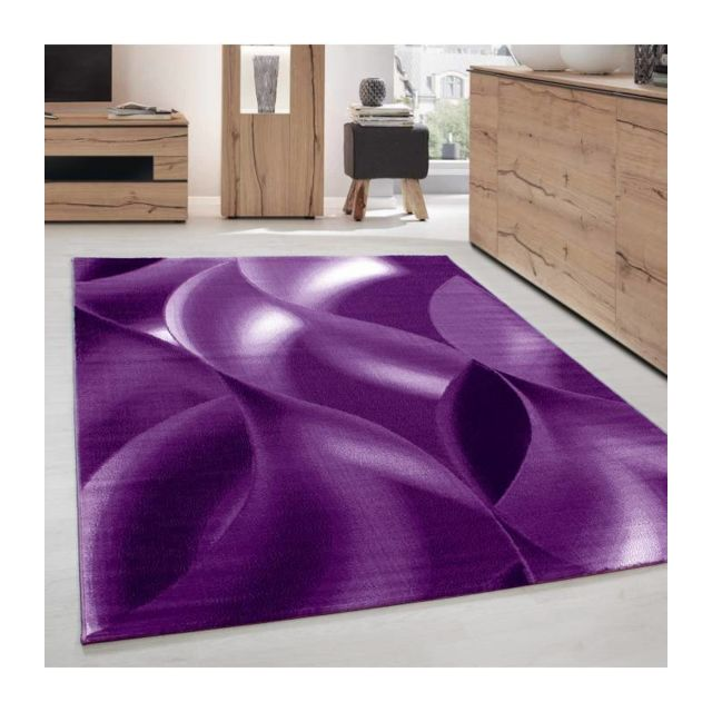 Tapis Moderne de Salon abstrait ombre d