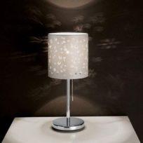 Eglo - Lampe A Poser Chicco 1 chrome 1x60w - Lighting - 91395