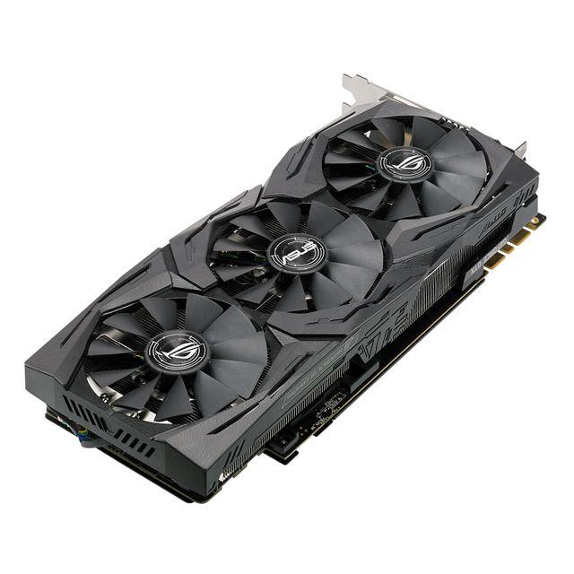 ASUS GeForce GTX 1080 Ti PCI Express 3.0 11 Go GDDR5X GeForce GTX 1080 Ti PCI Express 3.0 11 Go GDDR5X