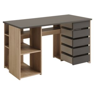 Last meubles bureau tabli creastyle 128cm x x 60 for Meuble bureau 76