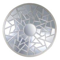 Mosaique miroir achat mosaique miroir pas cher rue du - Miroir multi facettes ...