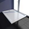 Rocambolesk - Superbe Receveur de douche Abs rectangulaire blanc neuf