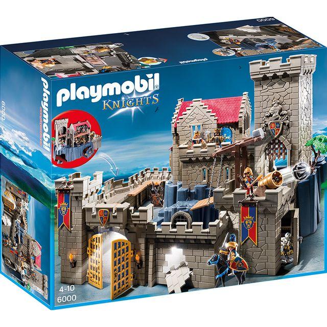 playmobil ch teau des chevaliers du lion imp rial 6000 pas cher achat vente playmobil. Black Bedroom Furniture Sets. Home Design Ideas