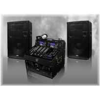 Ibiza Sound - Pack de sonorisation 960 W Mp3 Dj-696
