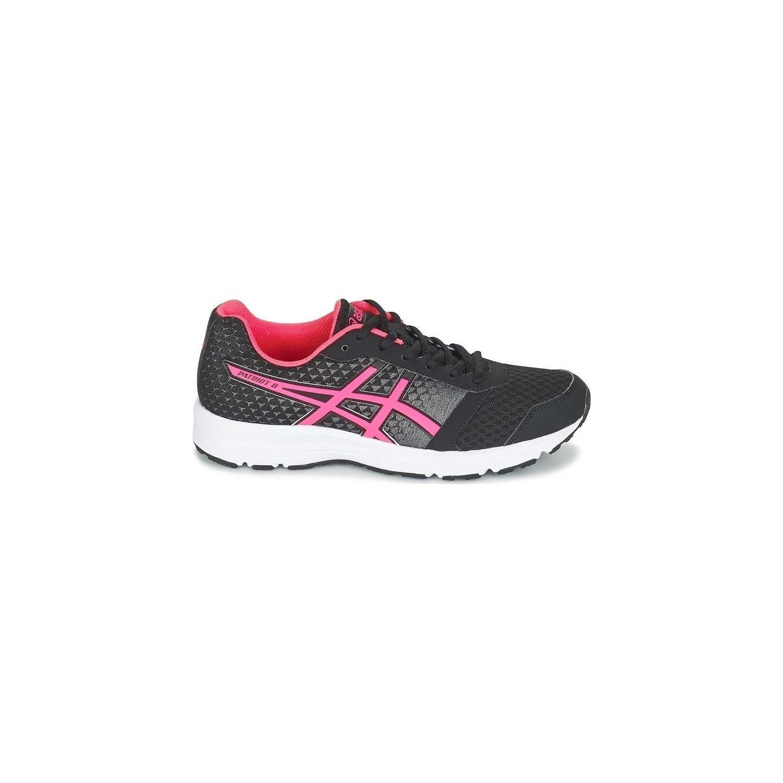 Asics - Chaussures Patriot 8 Noir-Rose Femme 2017 - pas cher Achat / Vente Chaussures running