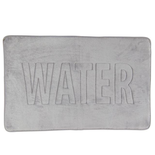 alinéa - water tapis de bain 50x80cm à mémoire de forme - pas cher