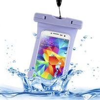 Yonis - Étui étanche iPhone 5 4S 3G smartphone 6 pouces universel Violet