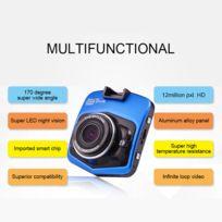 Shot - Camera Enregistreur Voiture pour Dacia 12mpx 1080p Hd Angle 170 degres Night Vision Accident BLEU