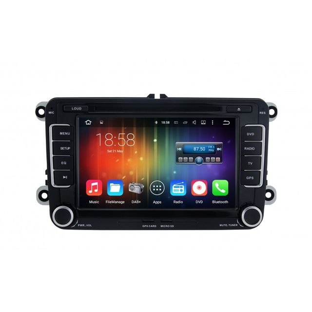 Auto-hightech Autoradio gps bluetooth volkswagen Android 5.1 radio WiFi