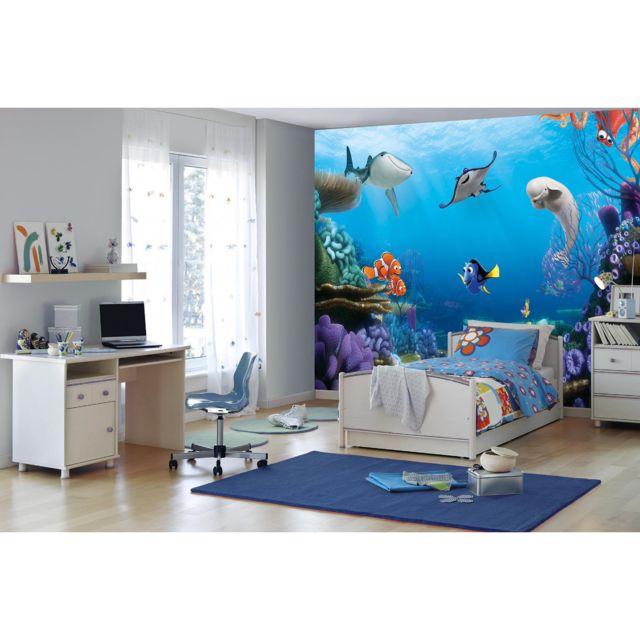 komar papier peint le monde de dory disney 368x254 cm pas cher achat vente papier peint. Black Bedroom Furniture Sets. Home Design Ideas