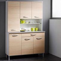 "Paris Prix - Buffet de Cuisine ""Smarty"" 120cm Naturel"