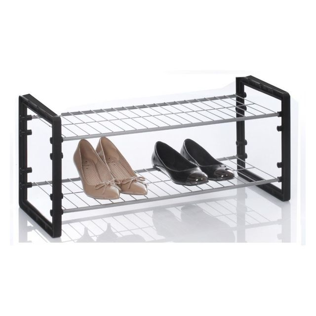 Jja rack chaussures superposable noir