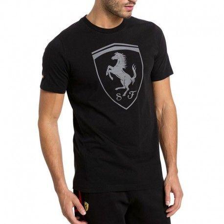 Puma - Tee-shirt Ferrari Big Shield Noir Homme - pas cher Achat   Vente Tee  shirt homme - RueDuCommerce a1b02b2941d3