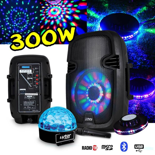 Party Sound Enceinte Karaoké batterie mobile 8