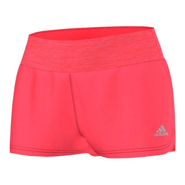 Adidas - Short Grete Heather Short rose femme - pas cher Achat   Vente  Collants - RueDuCommerce 01f7a464302