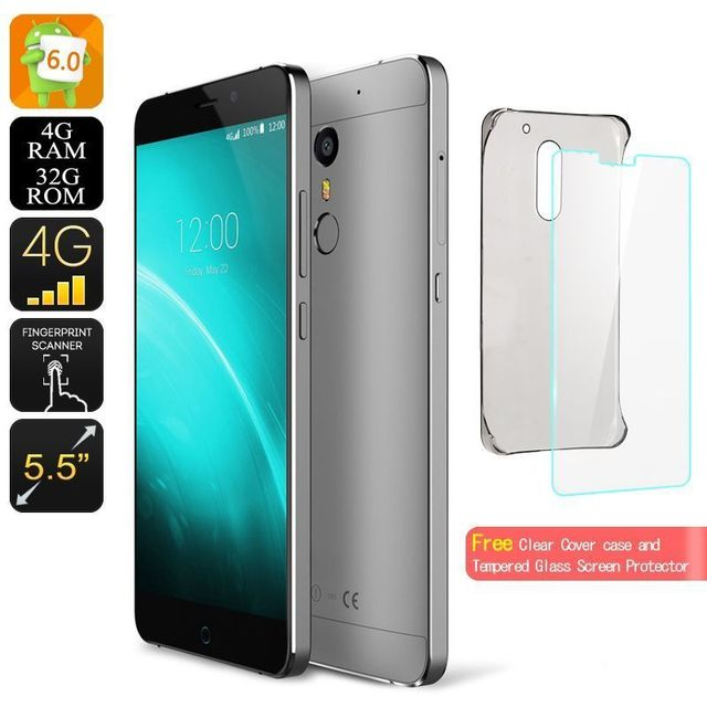 Yonis Smartphone Android 6.0 5.5' Double Sim 4G Octa Core 2Ghz 4Gb Ram 32Go