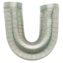 Dmo - Gaine alu flexible extensible Ø 90 mm - 0,85 / 3 m