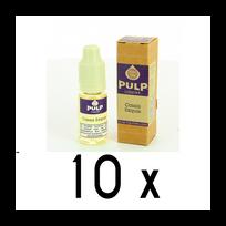 Pulp - Lot 10 e-liquides Cassis Exquis 18mg soit 4,90 euros le flacon 10ml