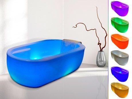 marque generique baignoire lot lumineuse leds phosphore 280l 175 81 60 pas cher achat. Black Bedroom Furniture Sets. Home Design Ideas