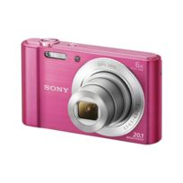 SONY - Appareil photo compact W810 - Rose - 20MP - Zoom optique 6x