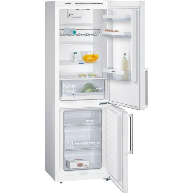siemens refrigerateur frigo combin blanc 307l a froid. Black Bedroom Furniture Sets. Home Design Ideas