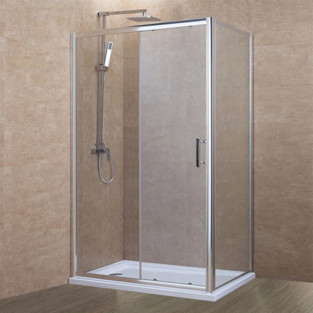 creazur paroi de douche d 39 angle 6 mm nerina 120 80cm vendu par rueducommerce 14905941. Black Bedroom Furniture Sets. Home Design Ideas